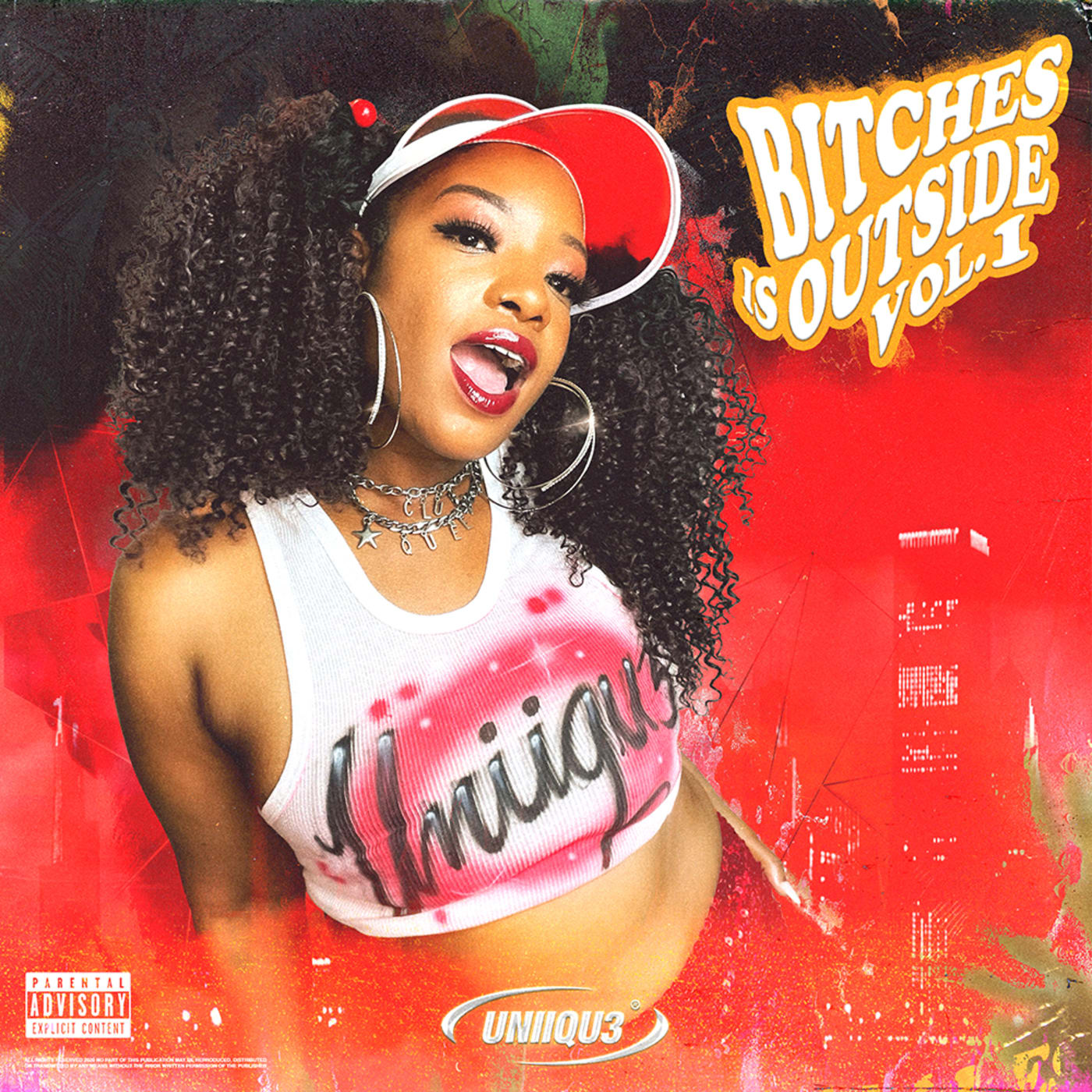 UNIIQU3 'Bitches Is Outside Vol. 1' cover