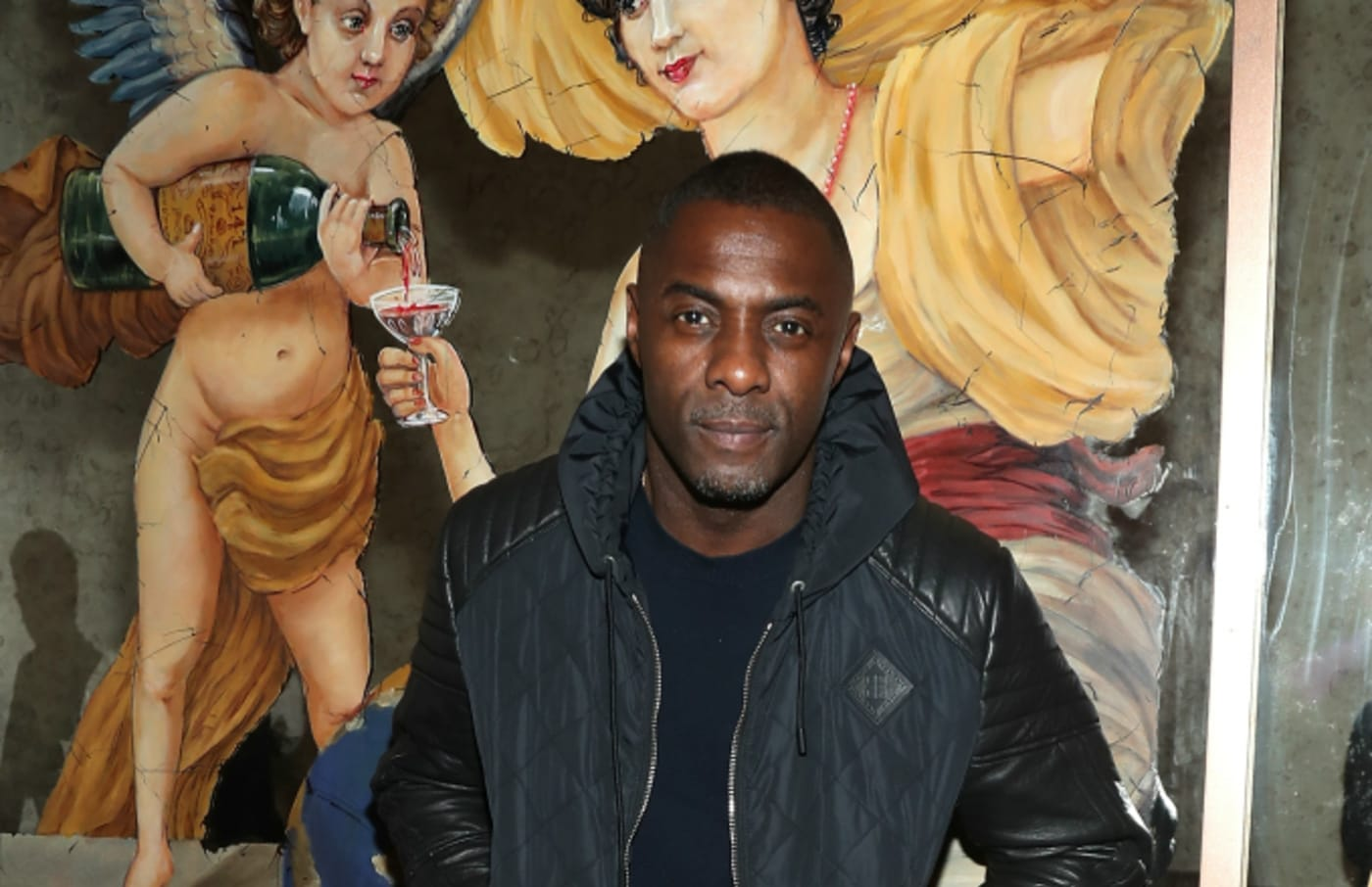 Idris Elba attends Feroce And The Fleur Room