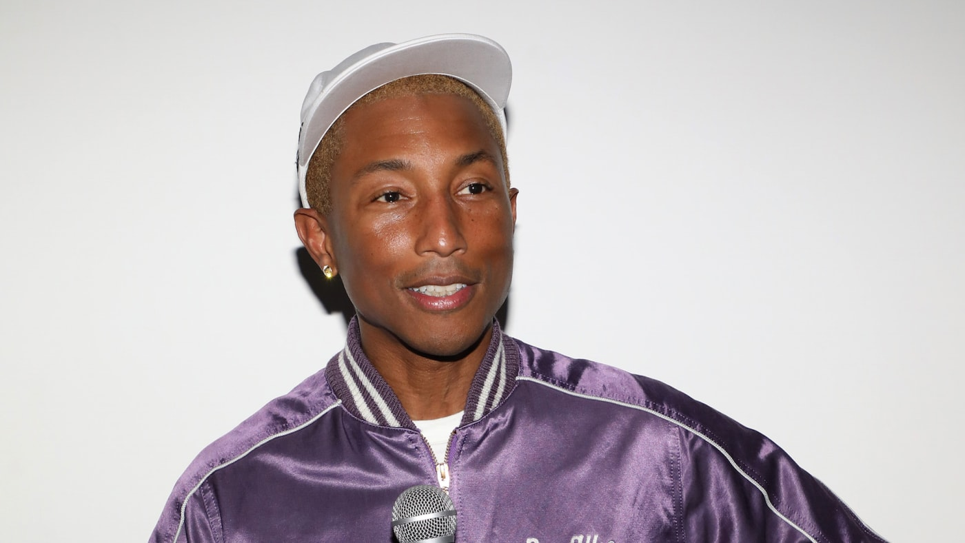 Pharell WIlliams attends the Richard Mille Celebration