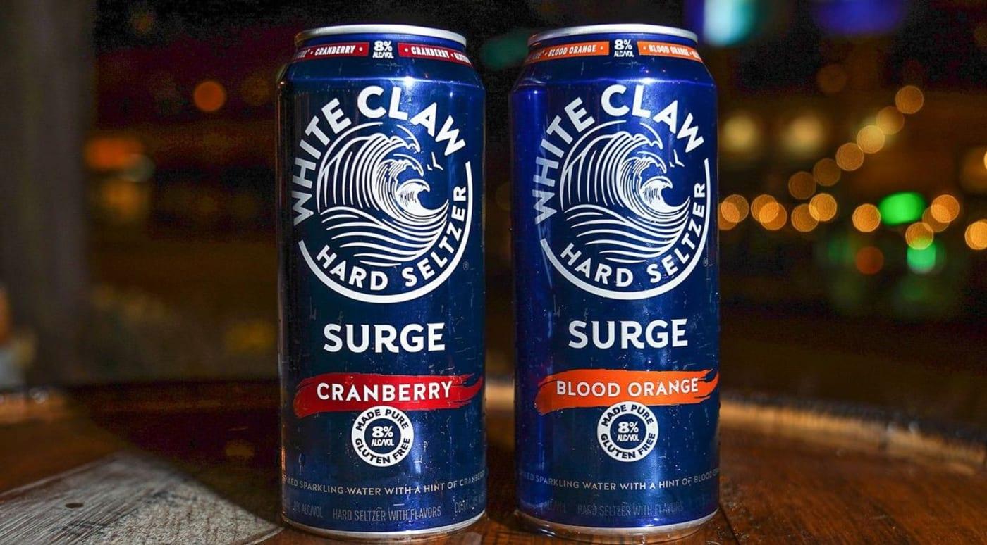 white claw surge