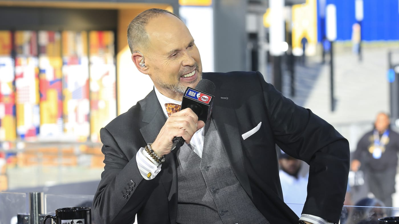 NBA TNT Analyst, Ernie Johnson