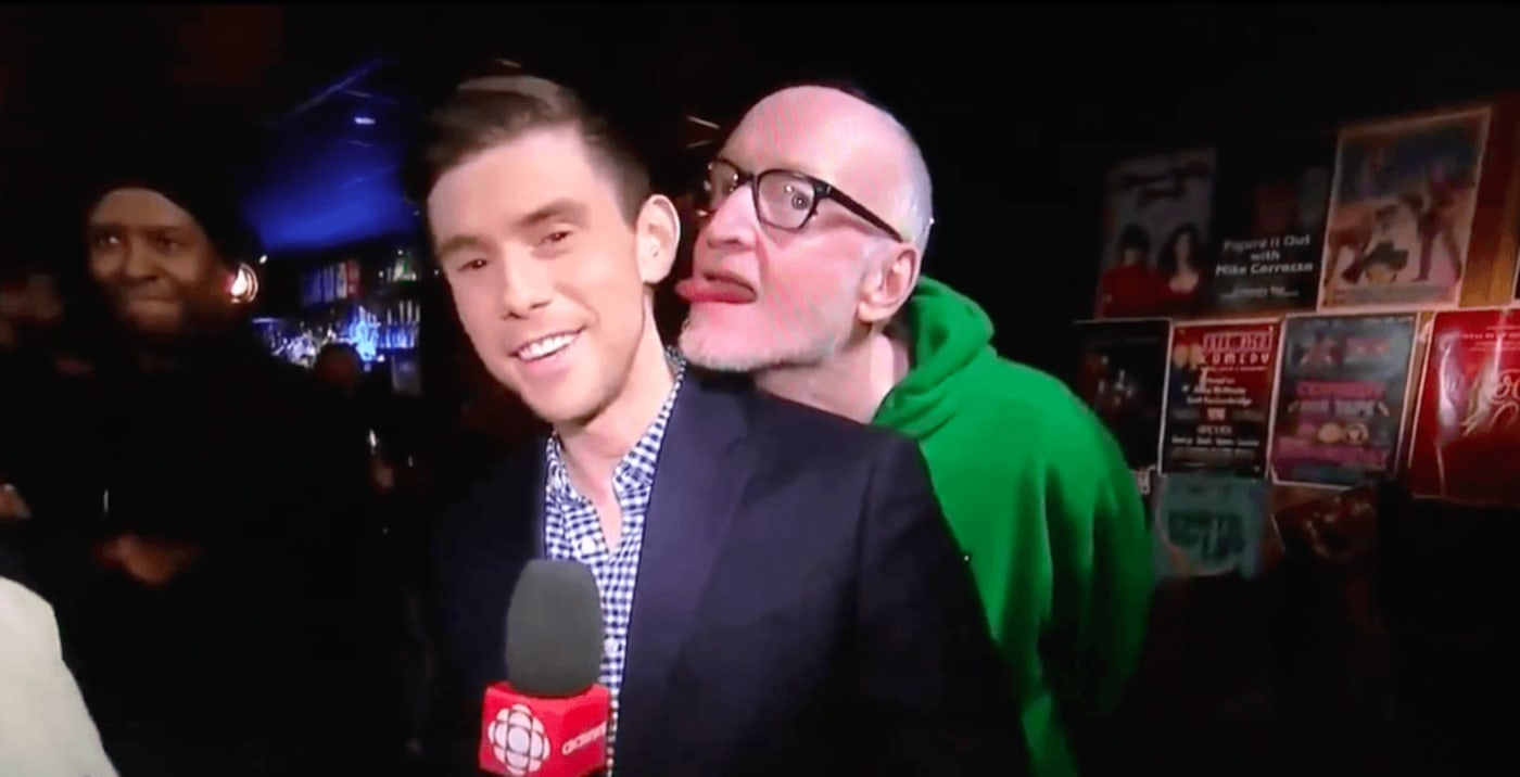 CBC Reporter Harassed By Man On Live Television Sparks Outrage