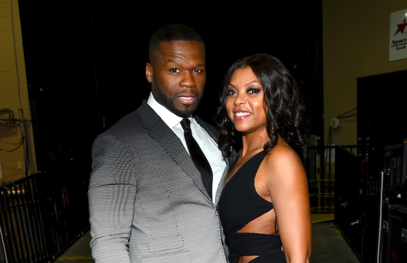 50 Cent and Taraji P. Henson