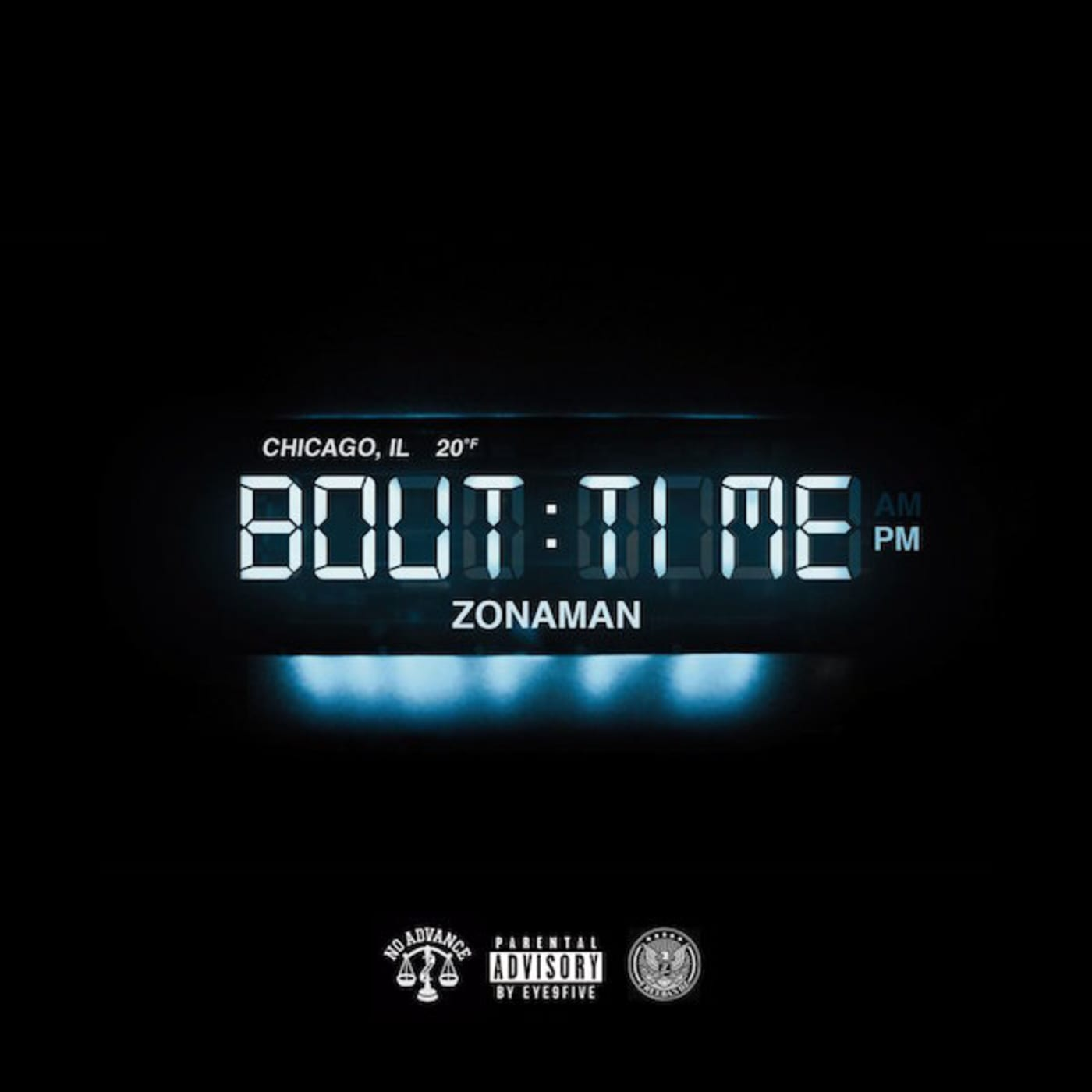Album cover for 'Bout Time' by Zona Man.