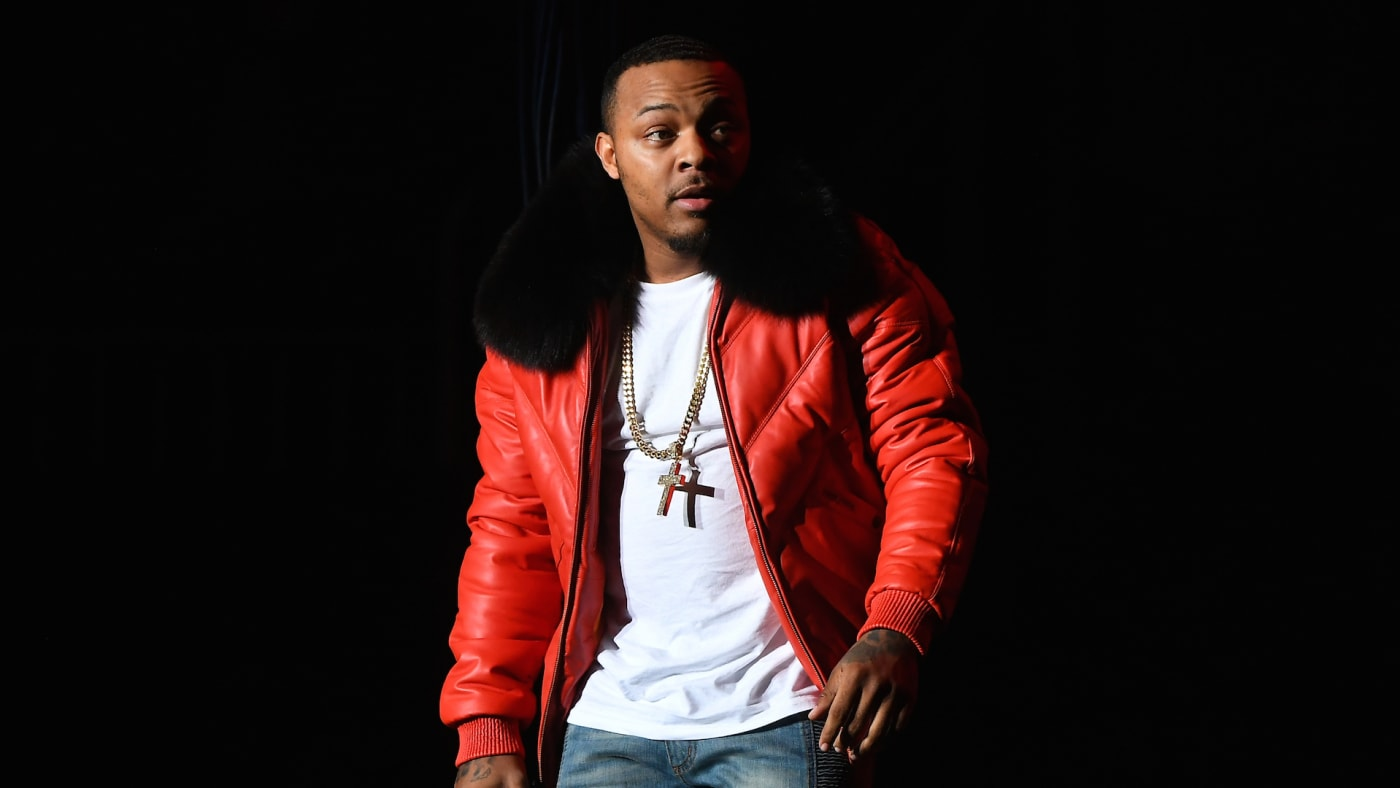 """Rapper Shad """"Bow Wow"""" Moss performs onstage during B2K's Millennium Tour"""