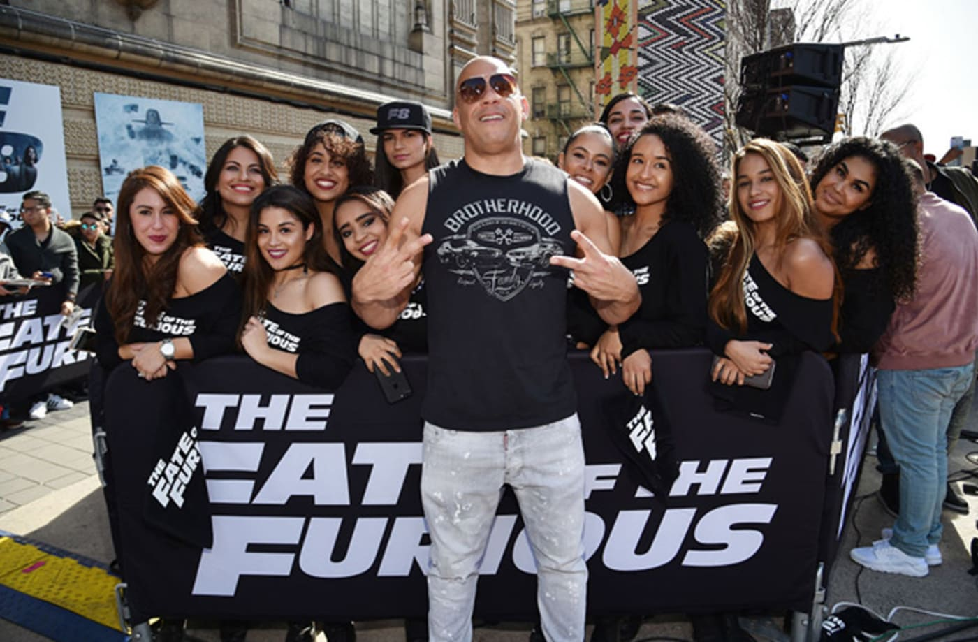 This is a photo of Vin Diesel