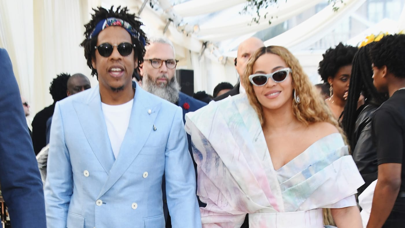 Jay Z and Beyonce attend 2019 Roc Nation THE BRUNCH.