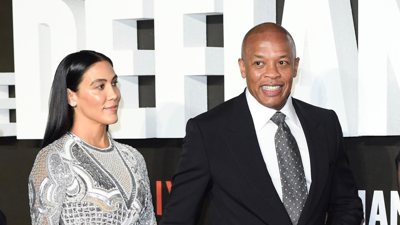 Nicole Young and Dr. Dre