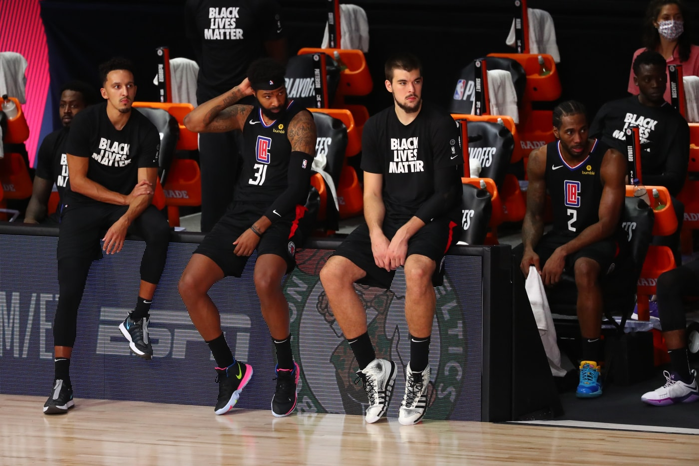 Clippers Bench Game 7 Denver 2020