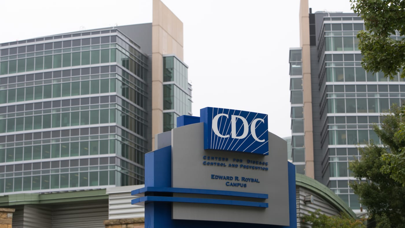 Exterior of the Center for Disease Control (CDC) headquarters