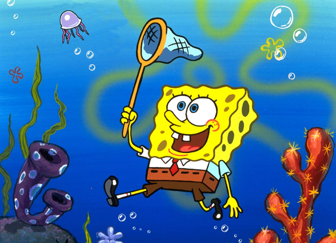 spongebob squarepants nickelodeon press
