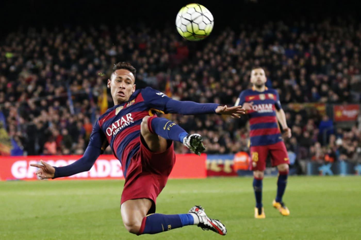 most famous soccer neymar