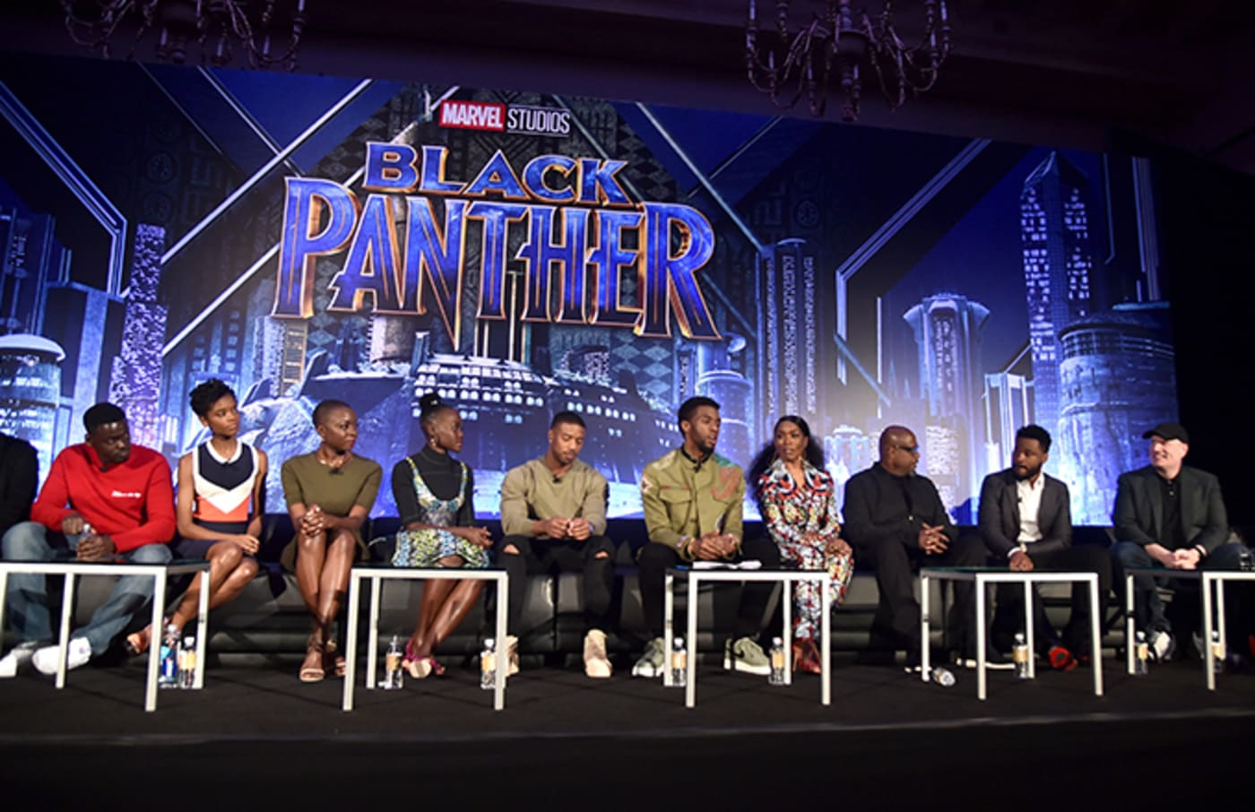 Black Panther cast.