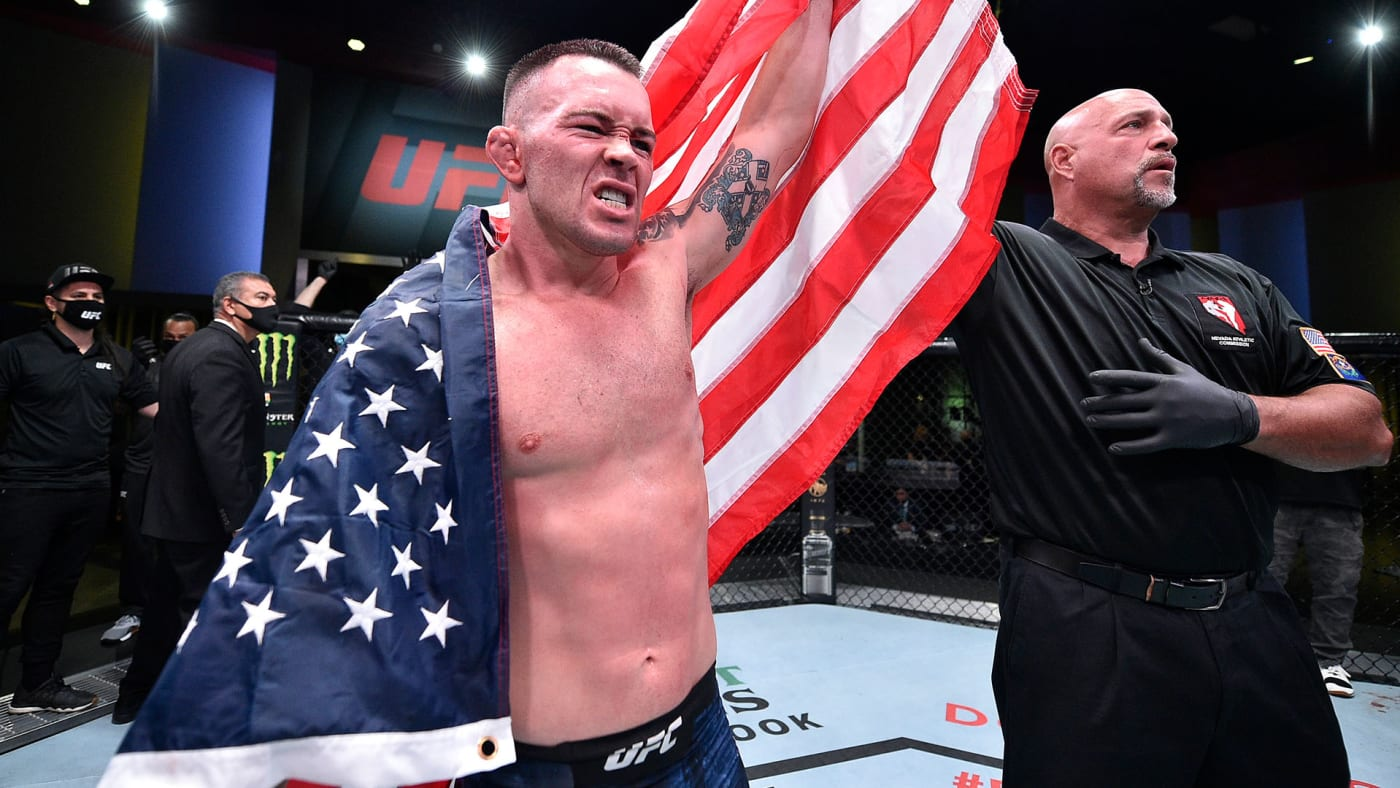 This is a photo of Colby Covington.