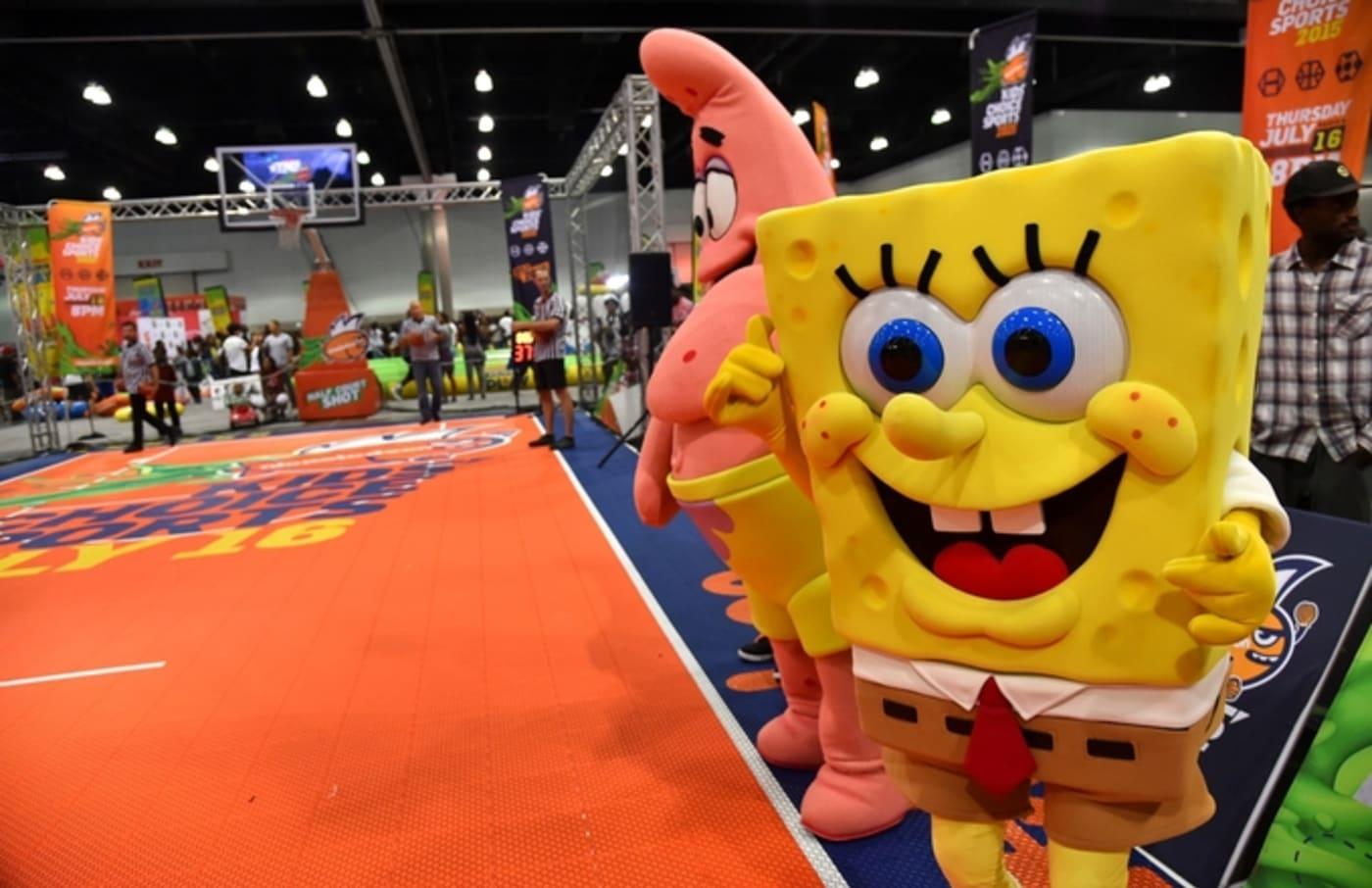 spongebob patrick basketball