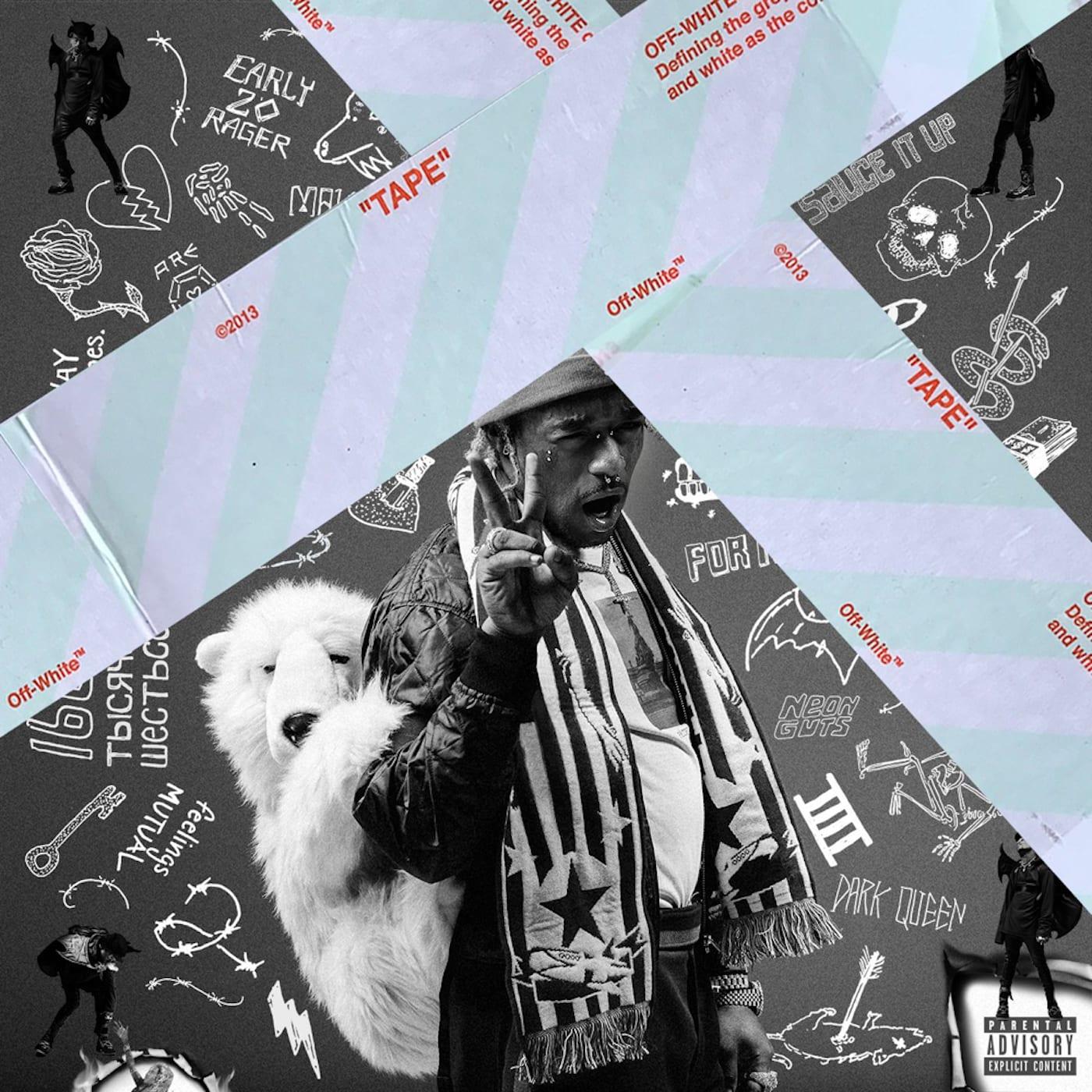 Luv is Rage 2 Virgil Abloh Album Covers
