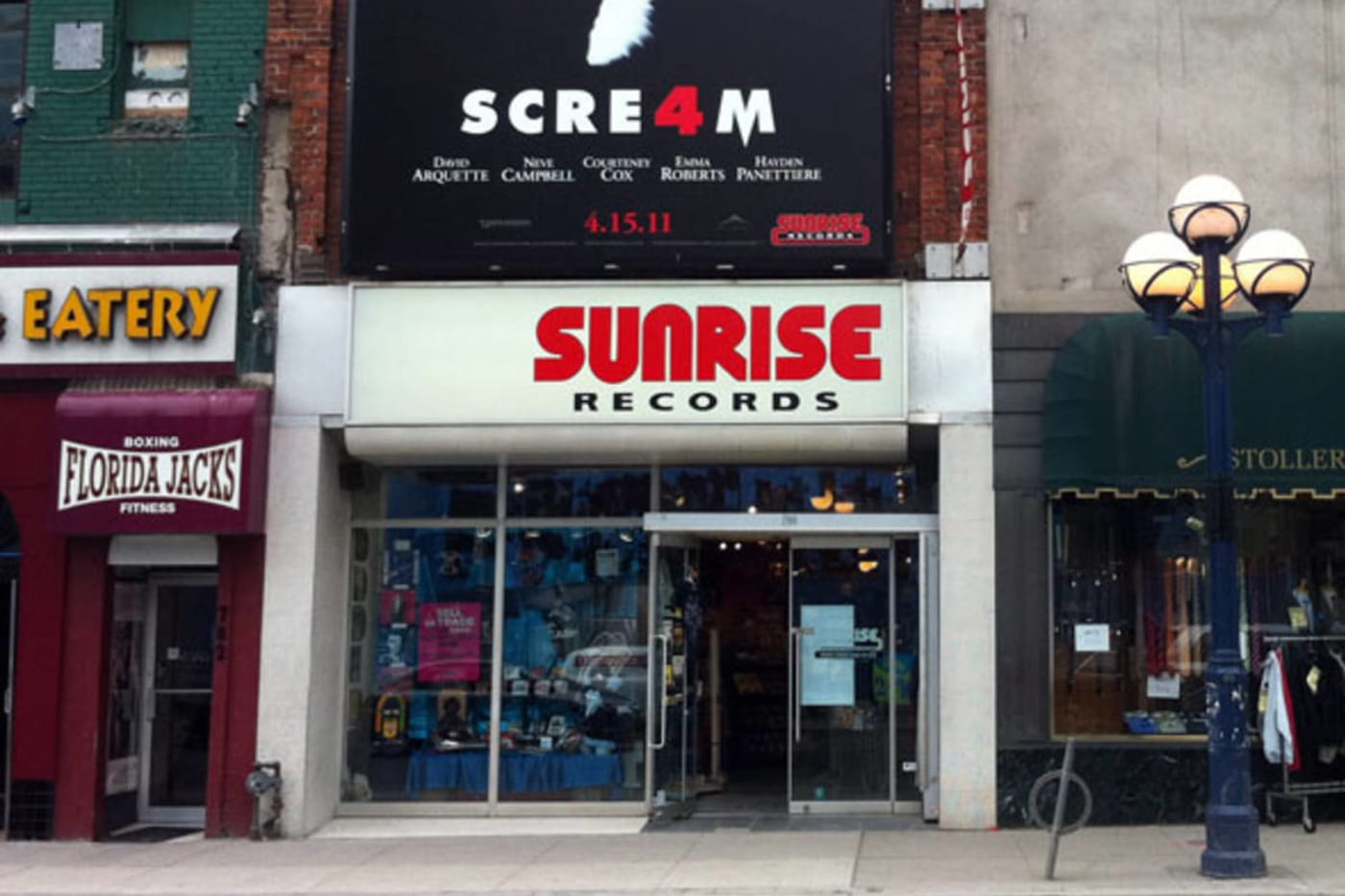 Sunrise Records Replace 70 HMV Stores