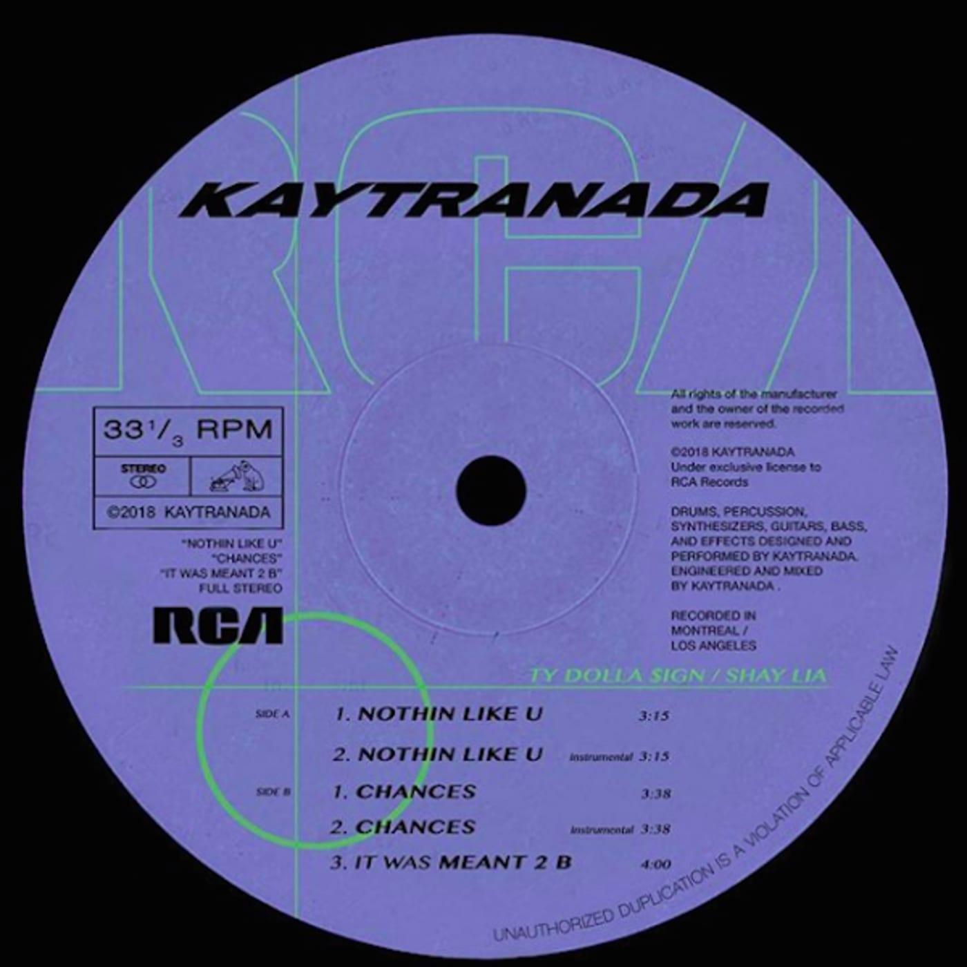 Kaytranada 'Nothin Like U / Chances'