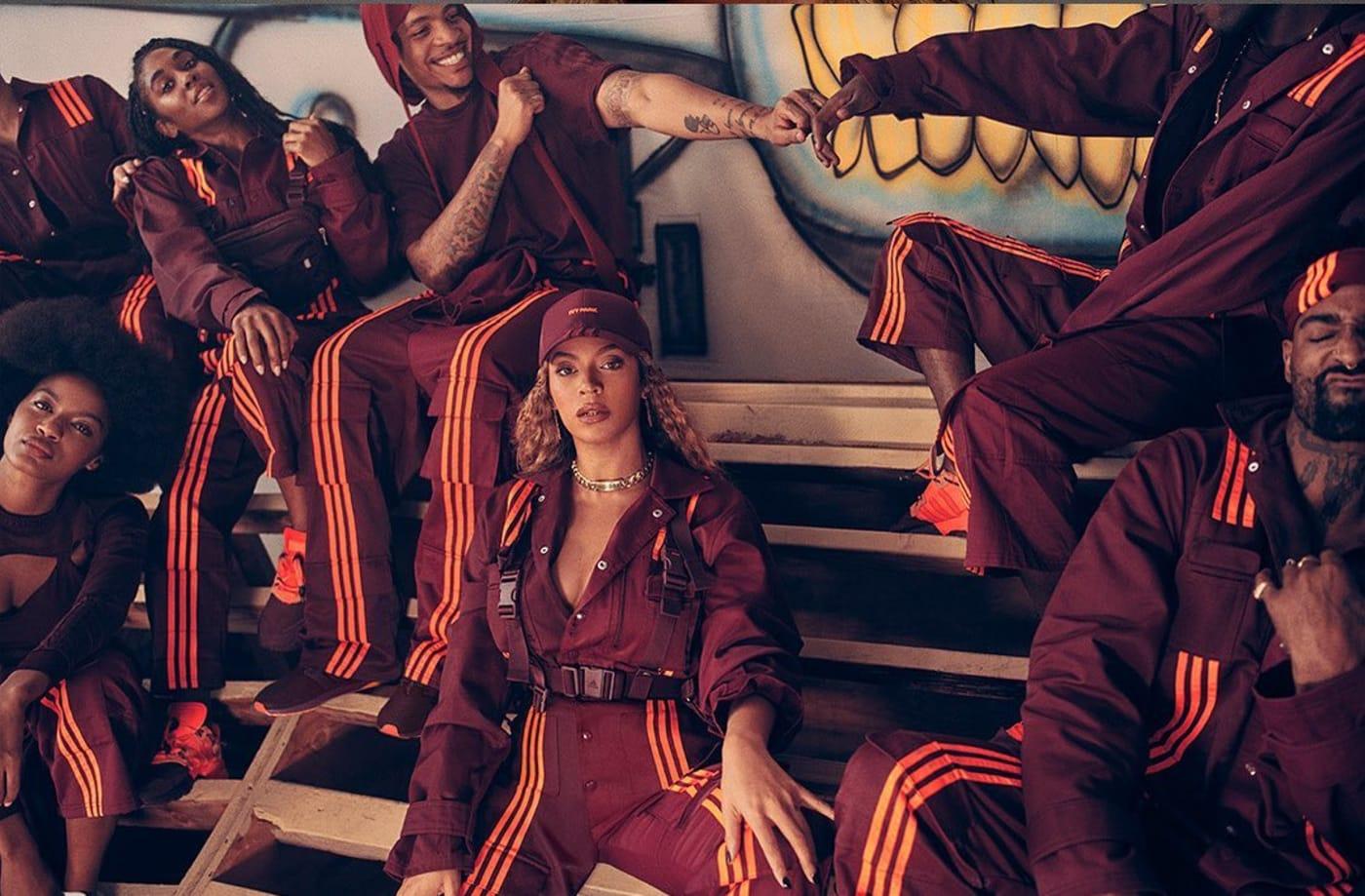 Beyonce Adidas Ivy Park Lookbook popeyes