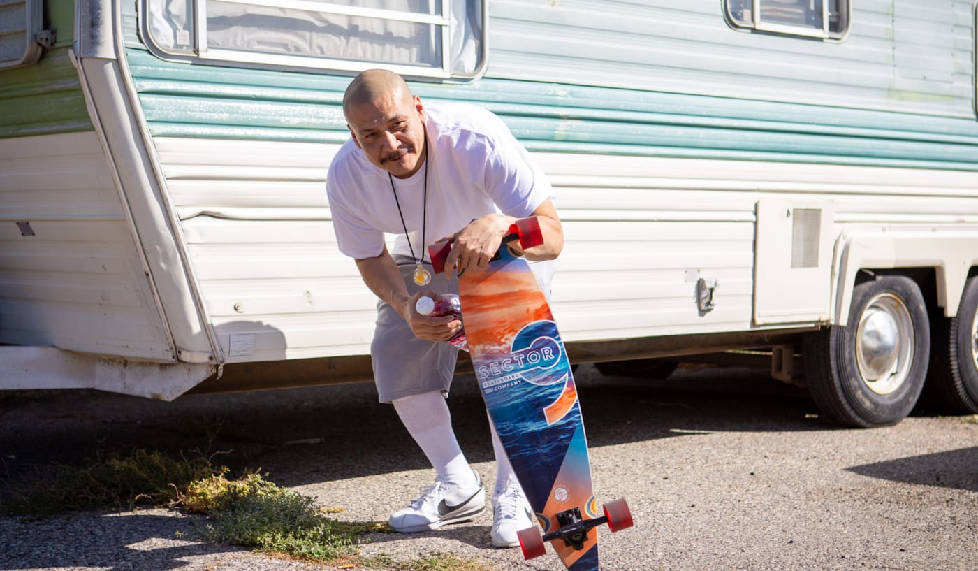 Fleetwood Mac Skateboarder