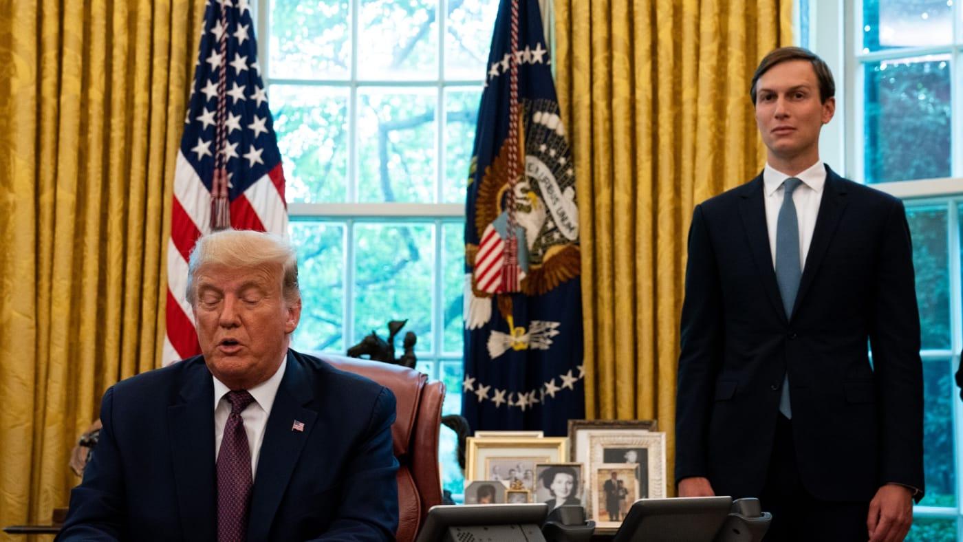 Donald Trump and Jared Kushner