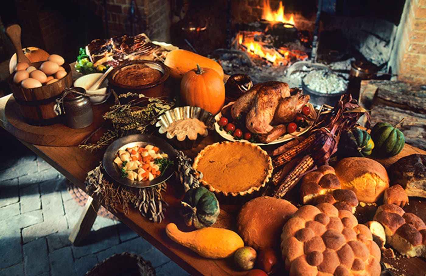 This is a photo of Thanksgiving.