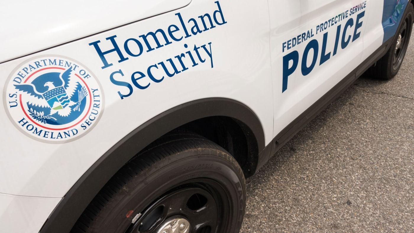 Homeland Security car