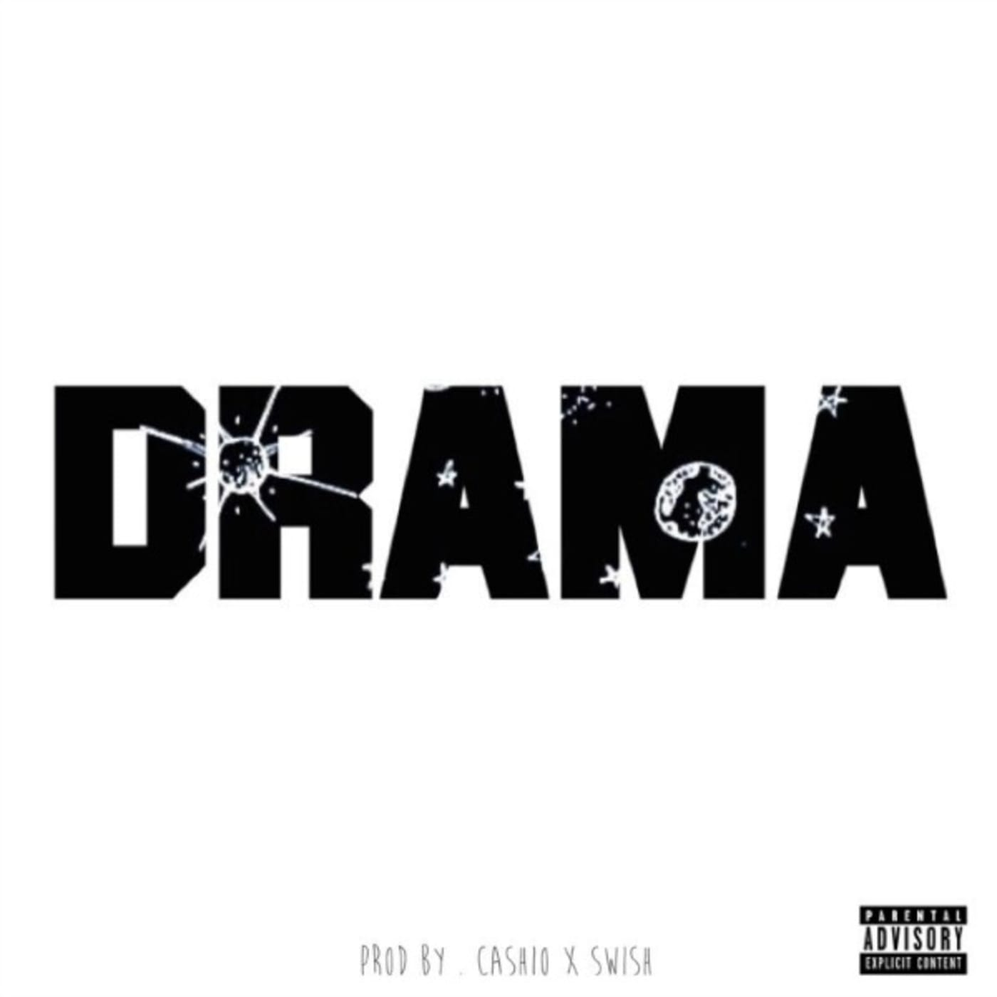 """Watson's cover art for """"Drama."""""""