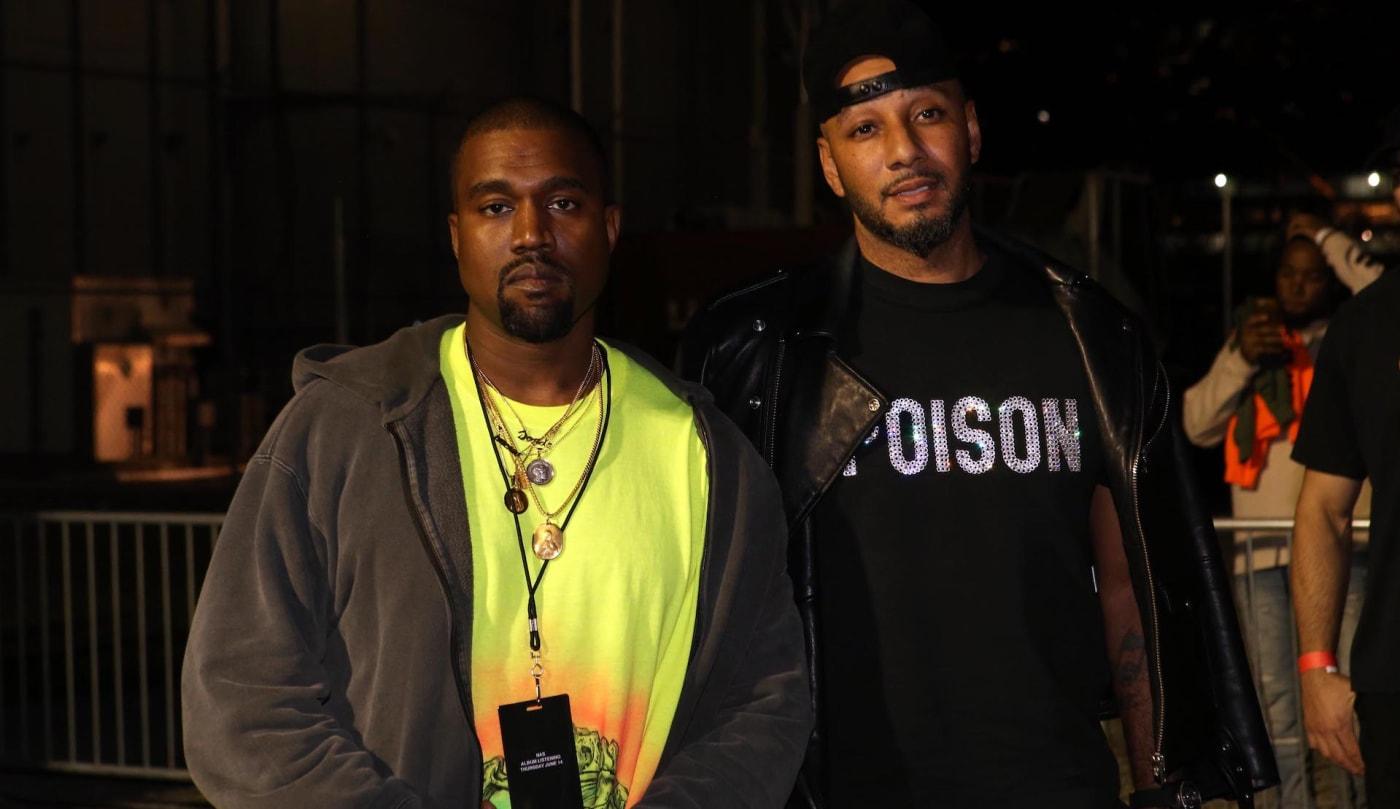 Kanye, Swizz Beatz
