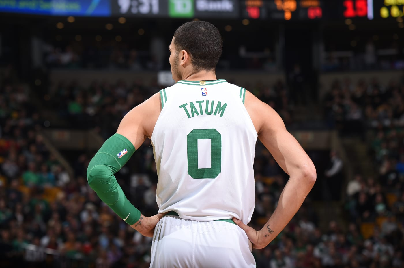 This is a photo of Jayson Tatum