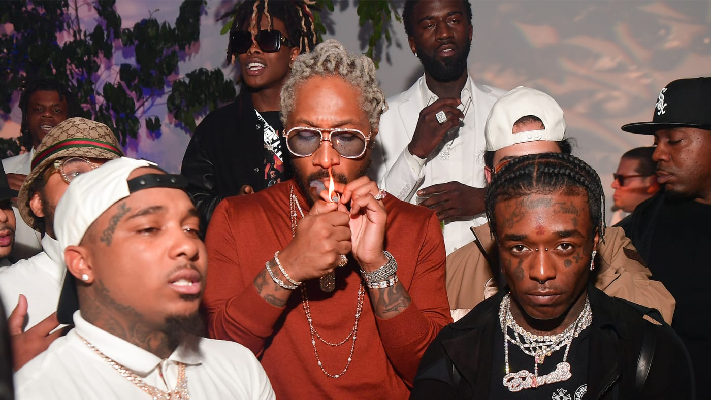 This is a photo of Future and Lil Uzi Vert.