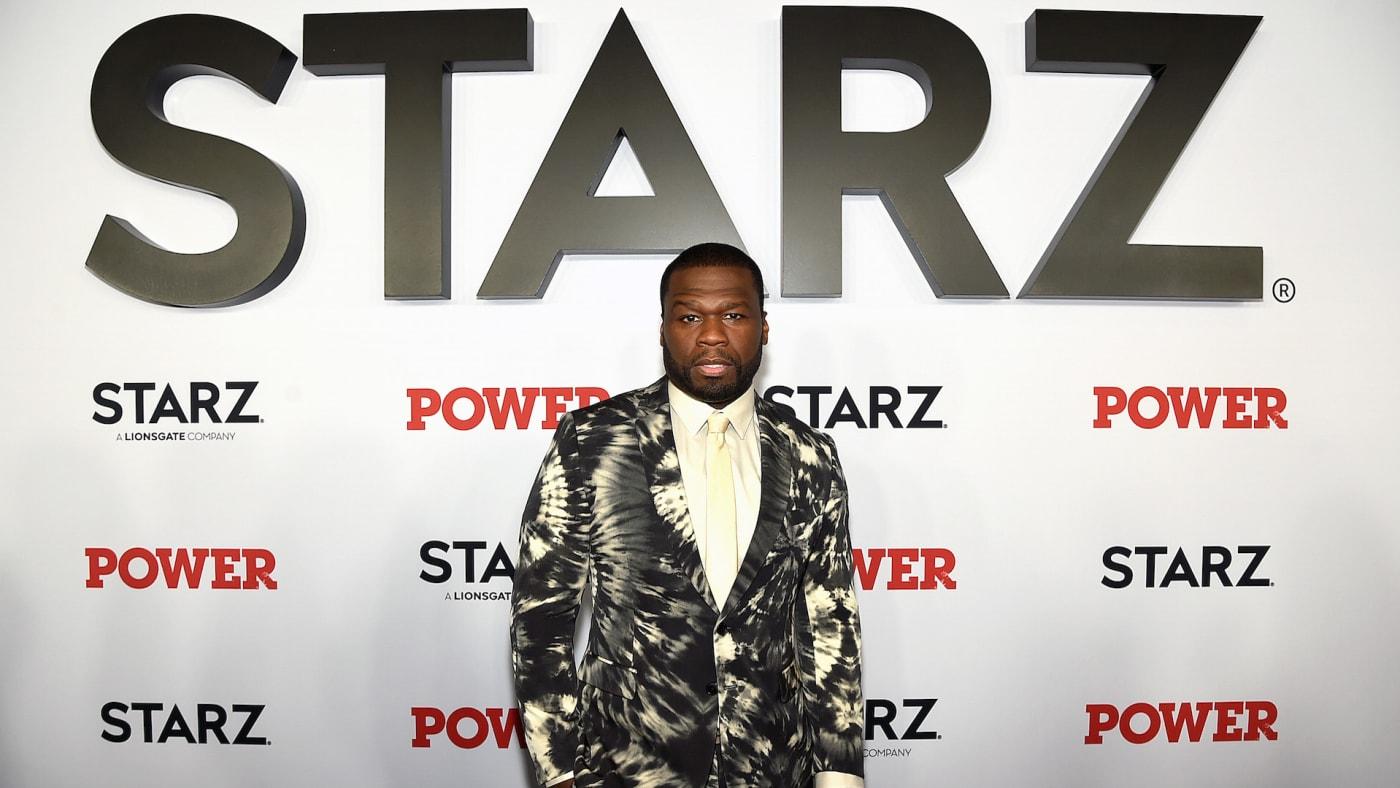 "Curtis ""50 Cent"" Jackson at STARZ Madison Square Garden ""Power"""