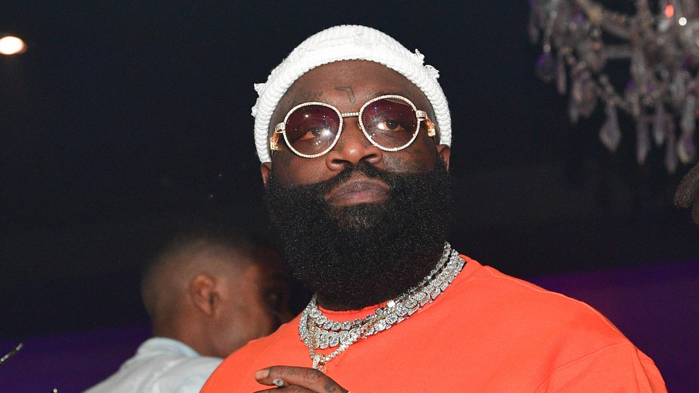 Rick Ross attends Hip Hop Vs Caribbean Vibes Event