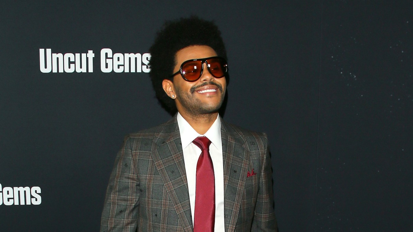 """The Weeknd attends the premiere of A24's """"Uncut Gems."""""""