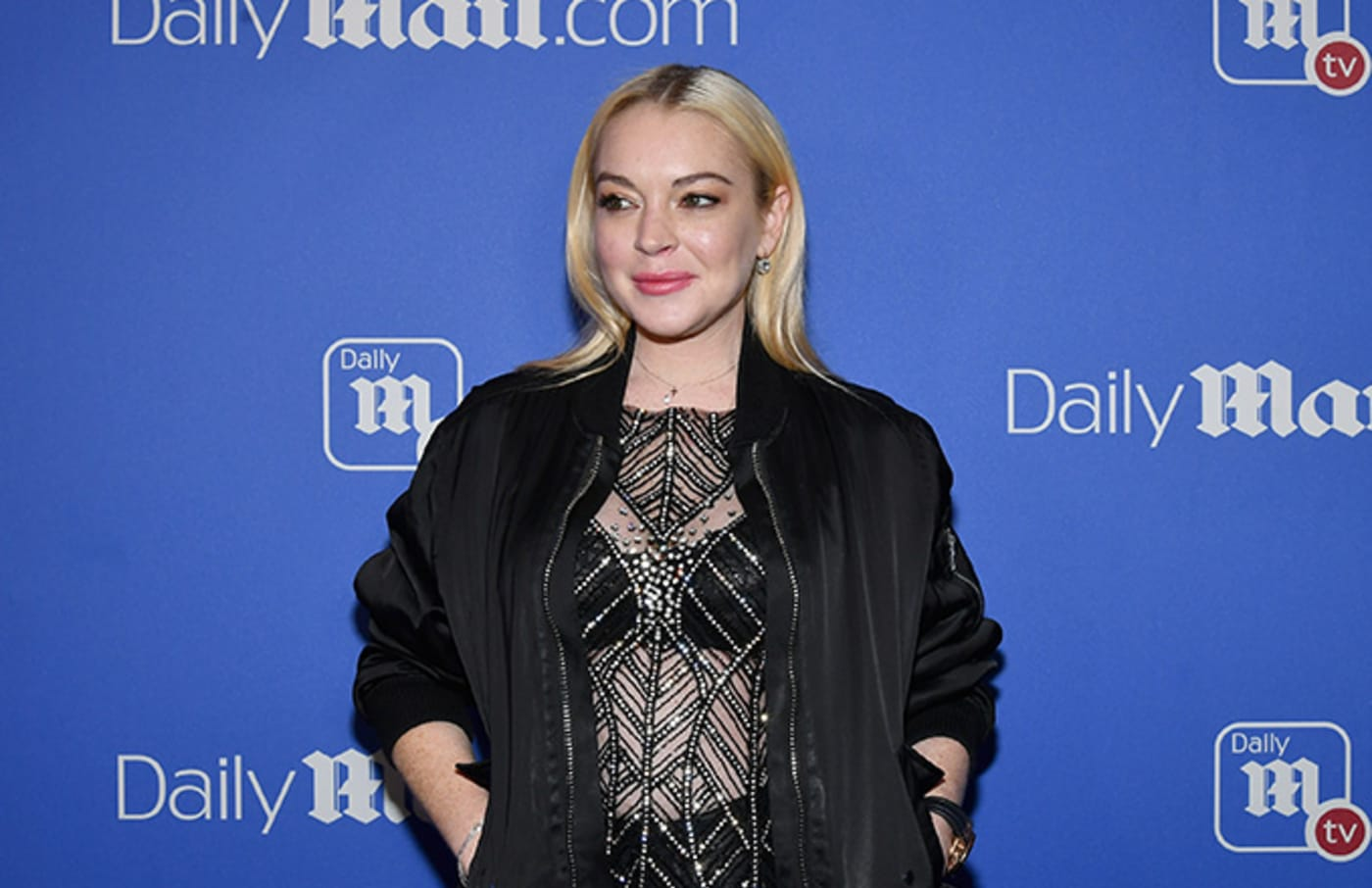 This is a photo of Lindsay Lohan.
