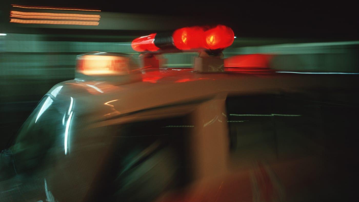 With lights flashing, a S.A.M.U. ambulance races into Calmette Hospital.