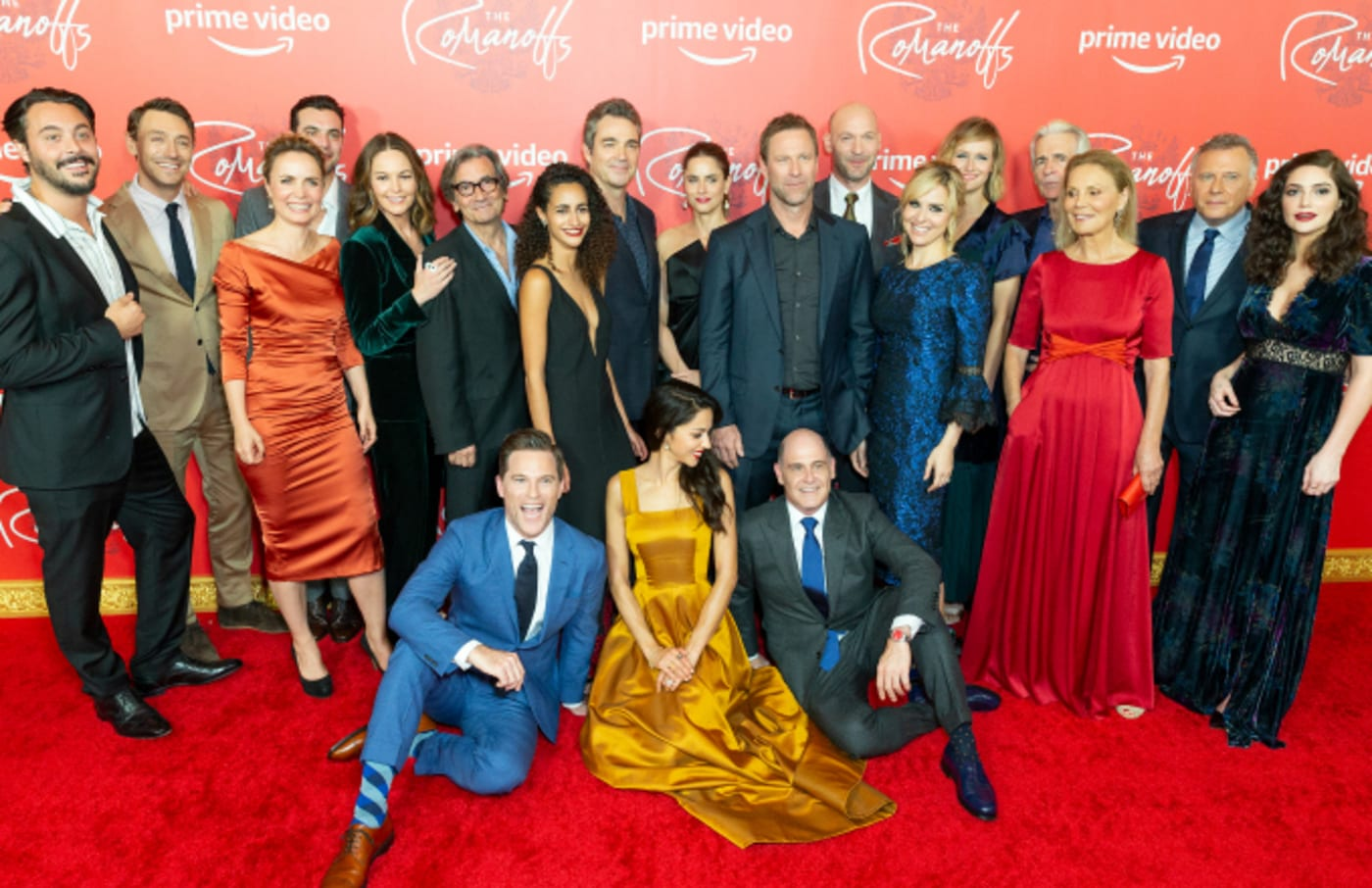 Cast attends Amazon Prime Premiere of The Romanoffs