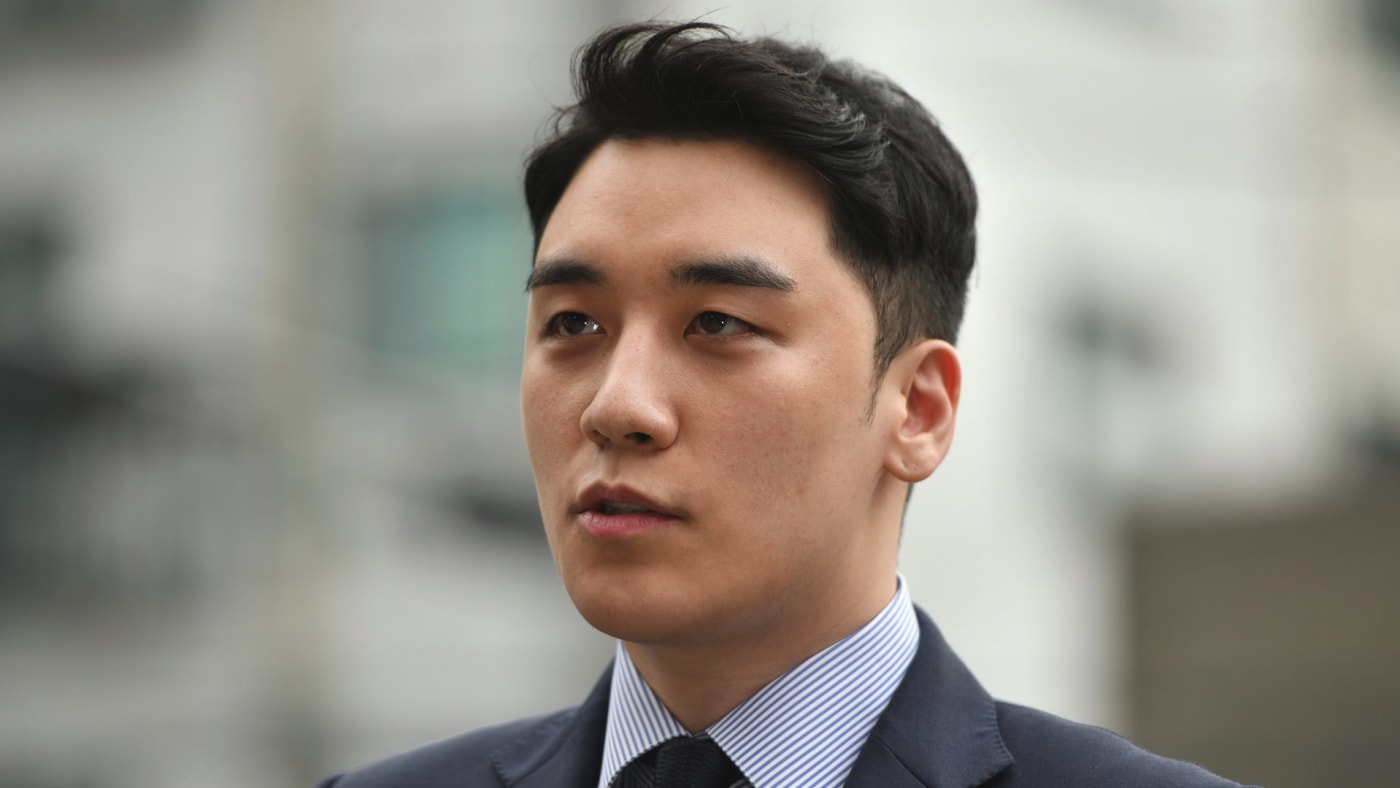 Former BIGBANG boyband member Seungri, real name Lee Seung-hyun