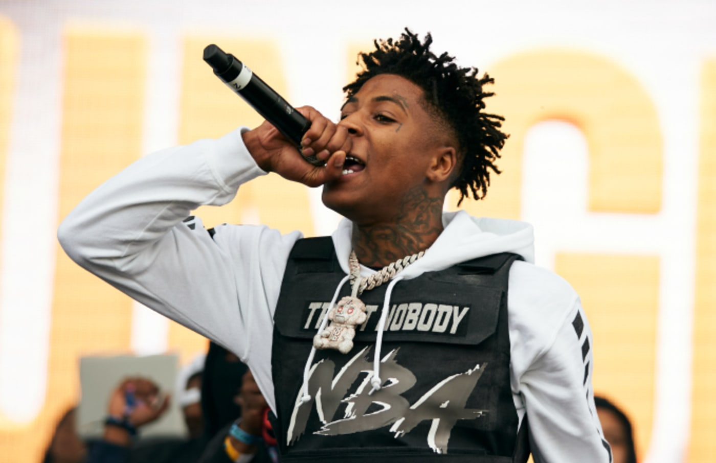 YoungBoy Never Broke Again performs during JMBLYA