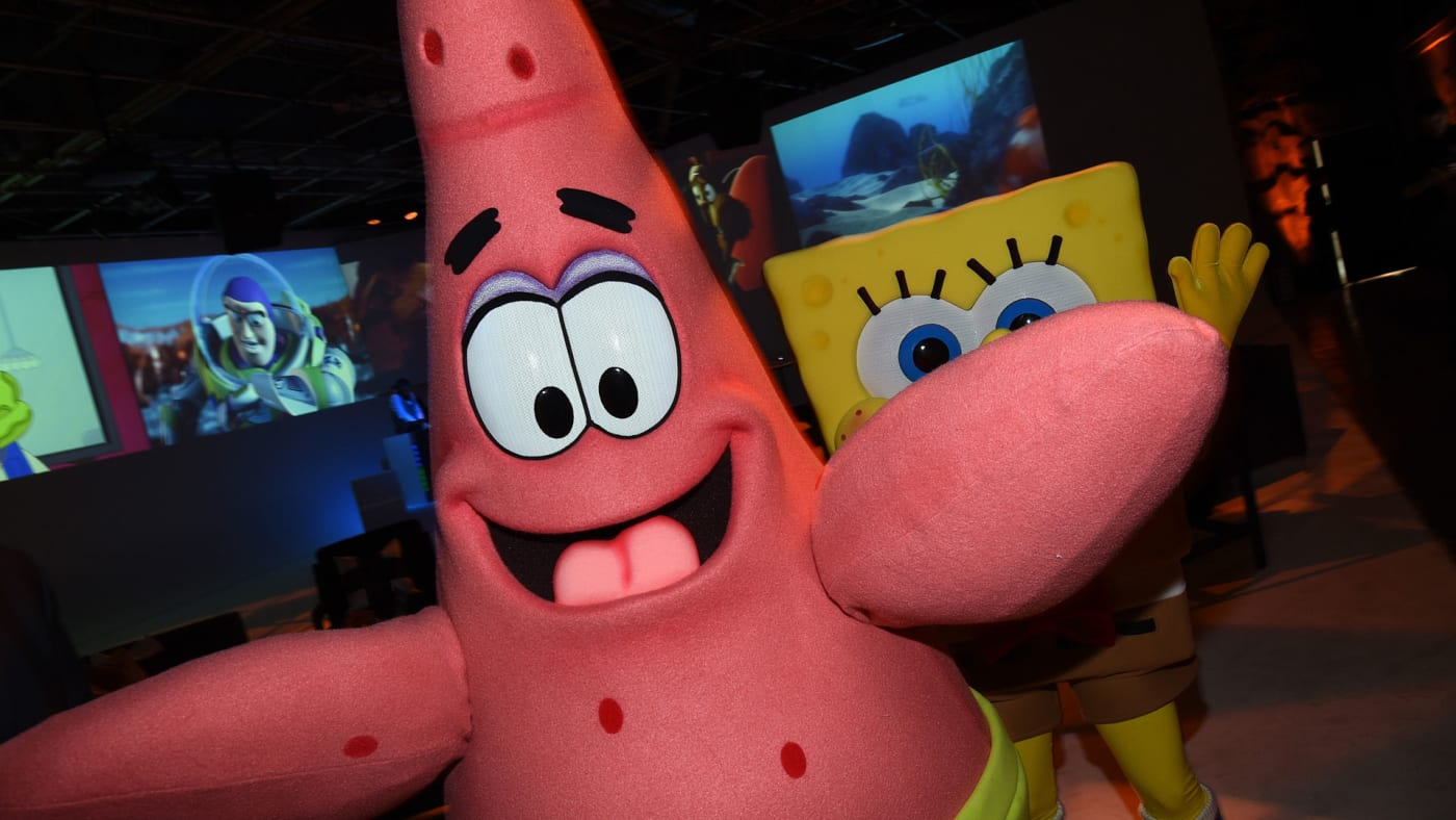 Patrick Star attends the Variety and Nickelodeon 10 Animators to watch event.