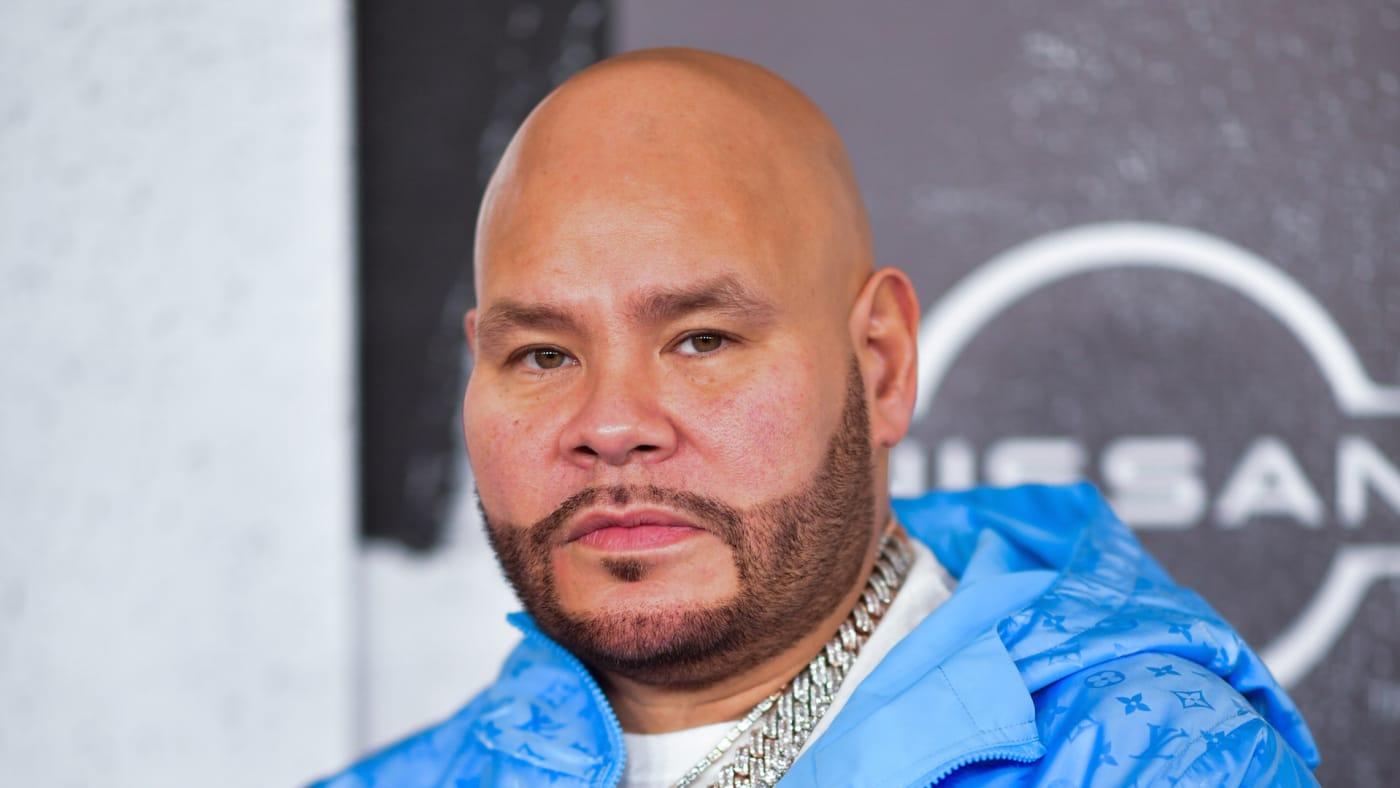 Fat Joe arrives to the 2021 BET Hip Hop Awards