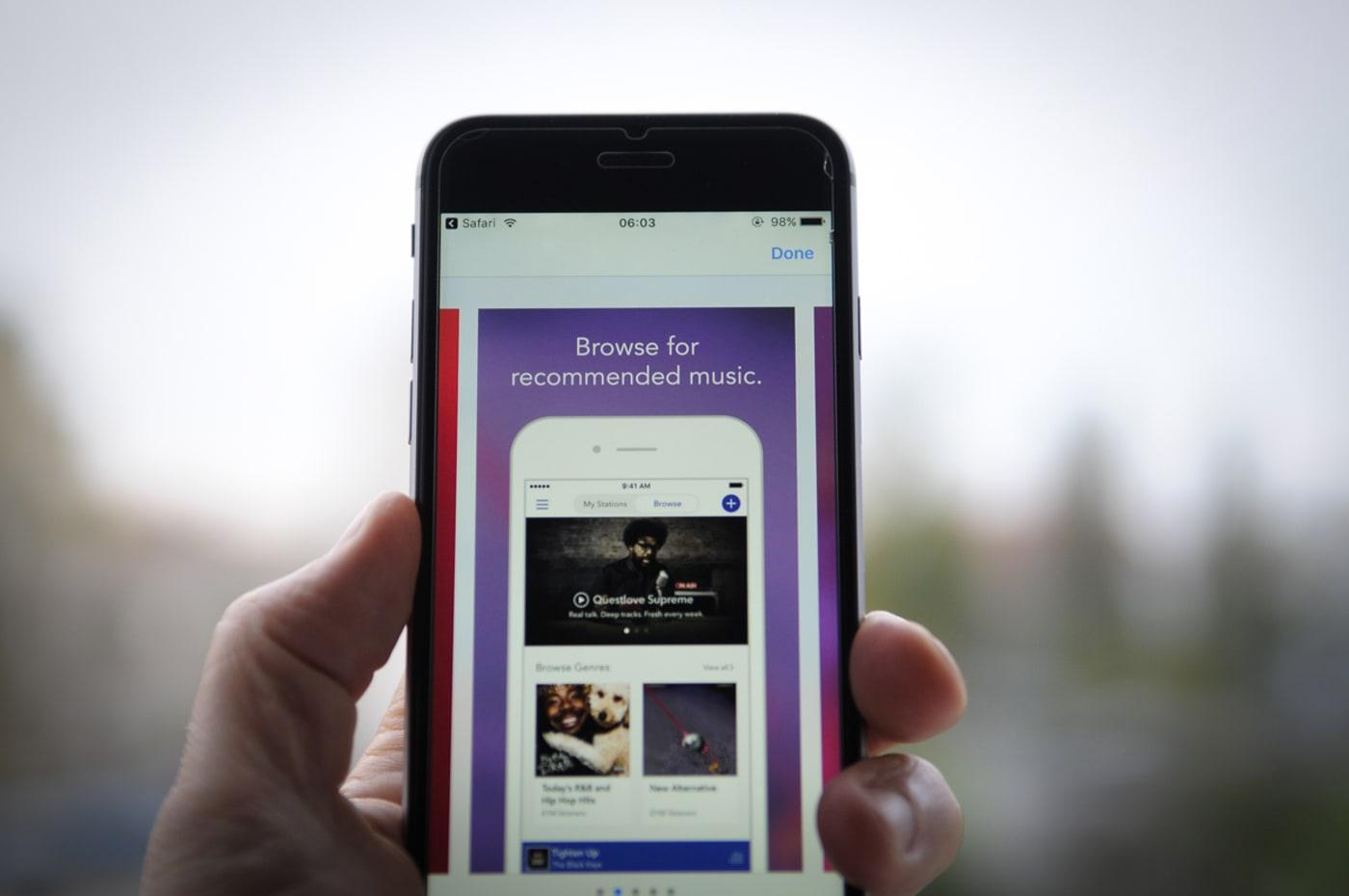 music apps getty nurphoto