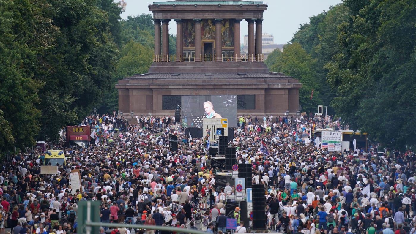 Berlin protest