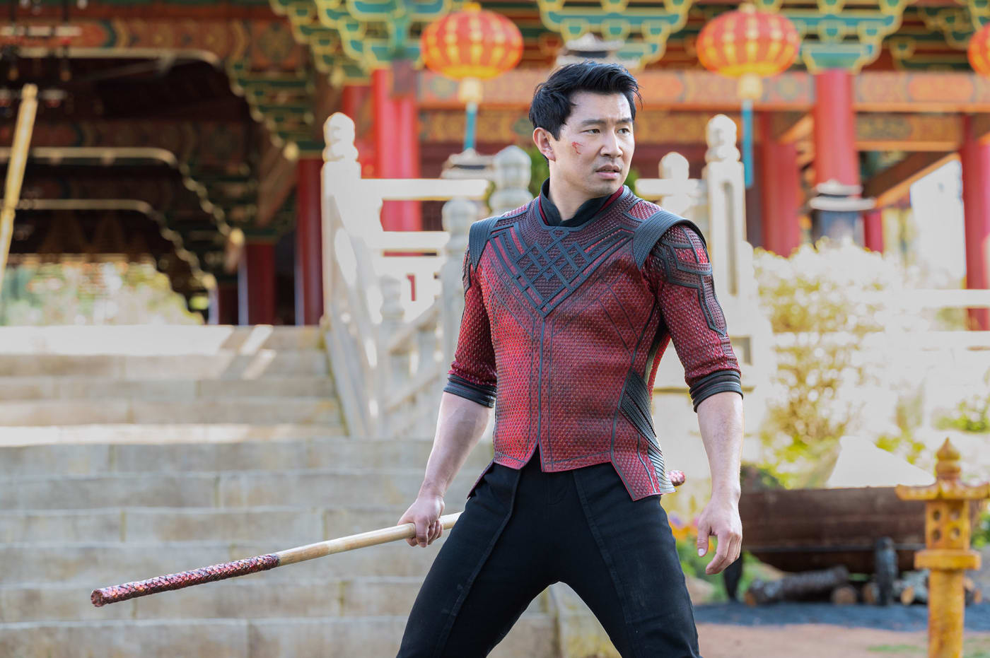 Simu Liu starring in Shang Chi and the Legend of the Ten Rings