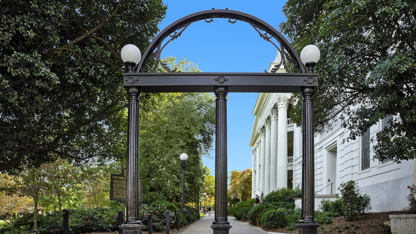 The Georgia Arch, University of Georgia