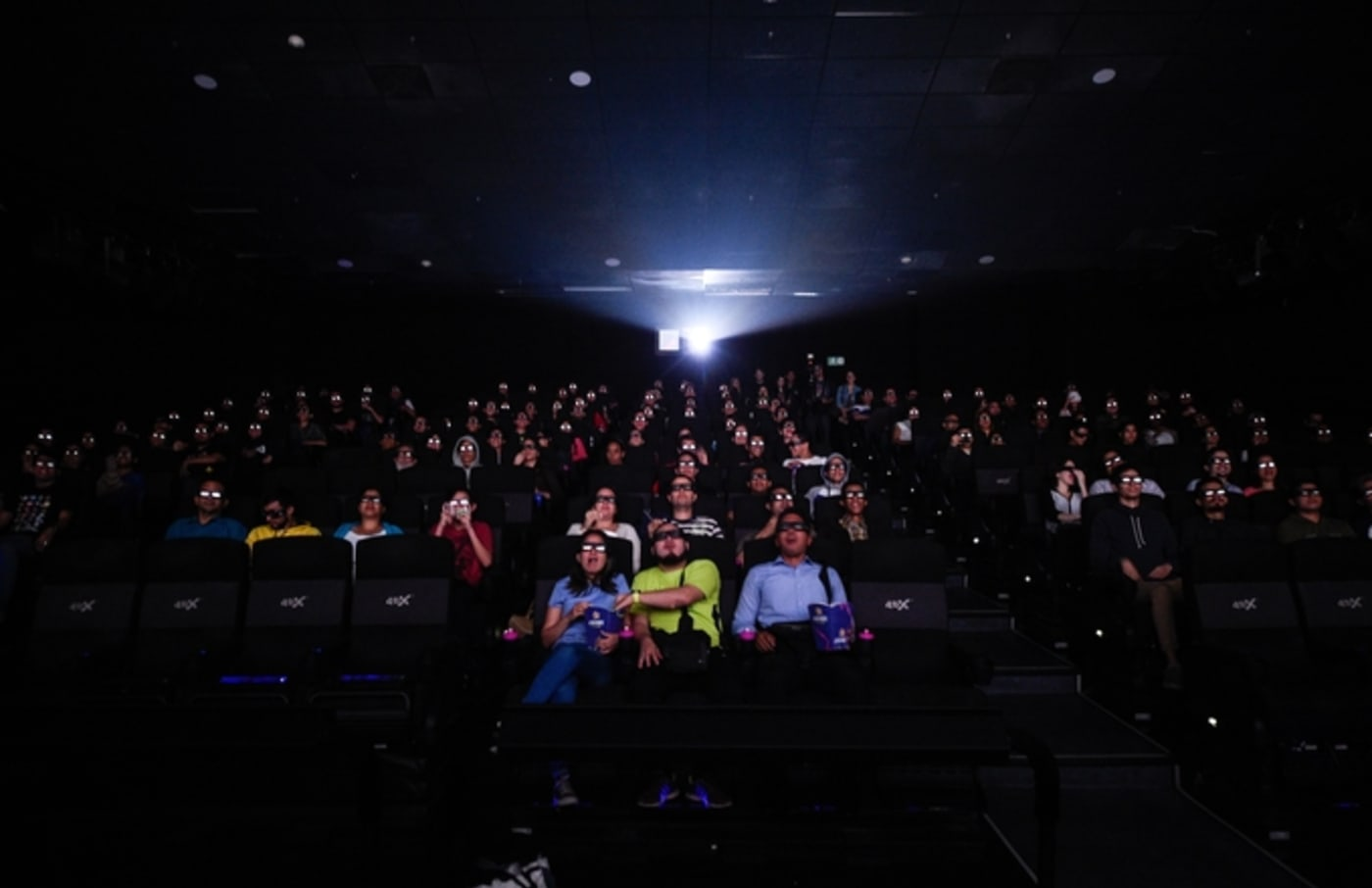 avengers endgame movie theater audience