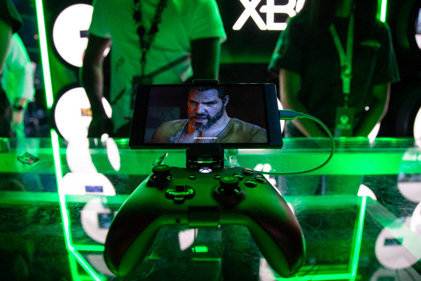 Xbox controller at E3 2019