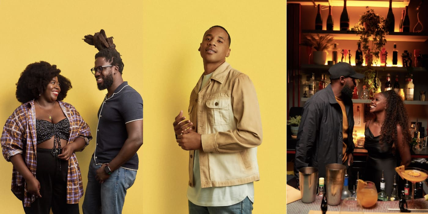 Bumble's latest campaign is a celebration of black love