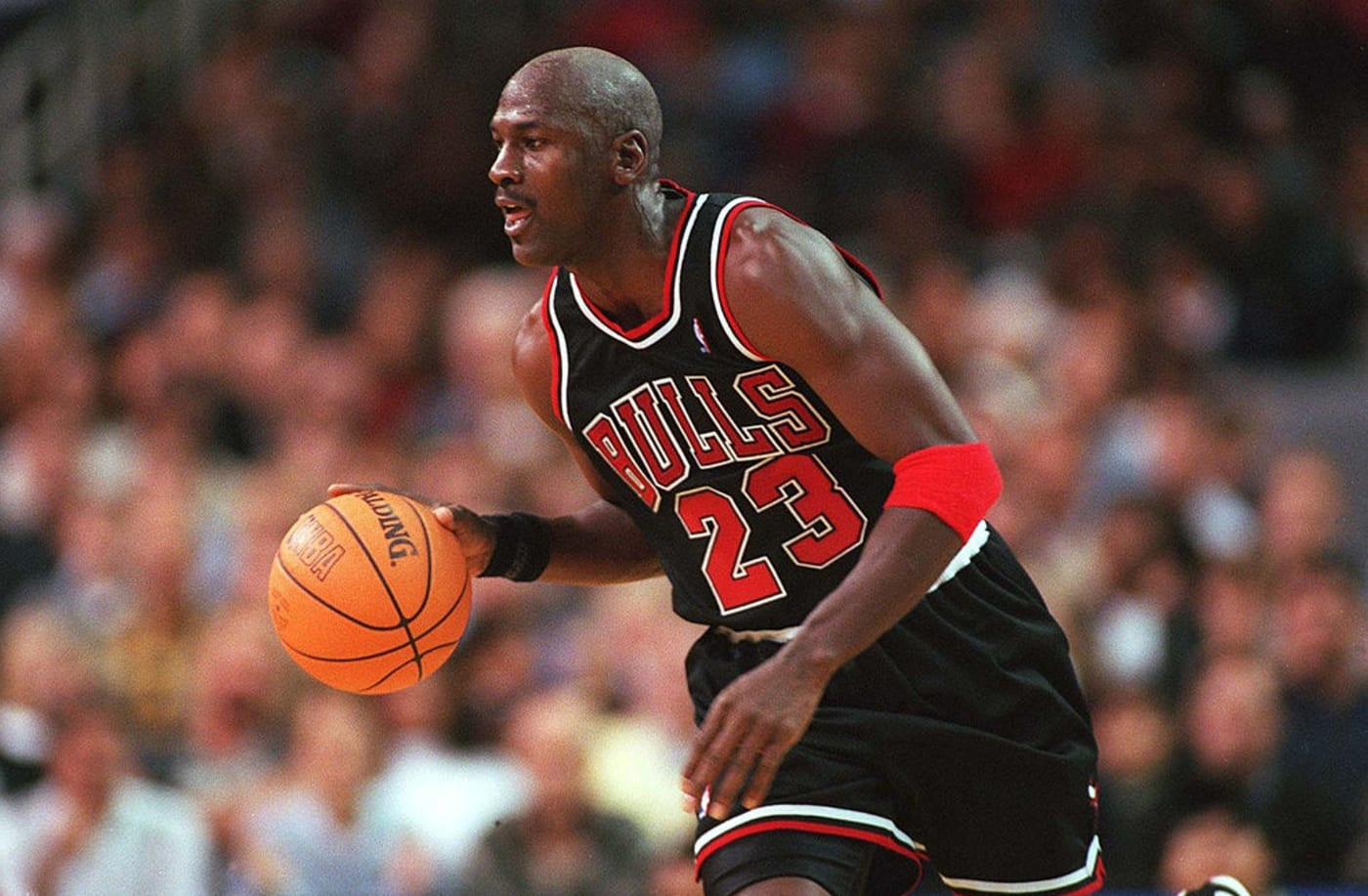 Michael Jordan Bulls 1997 1998 Black Alternate