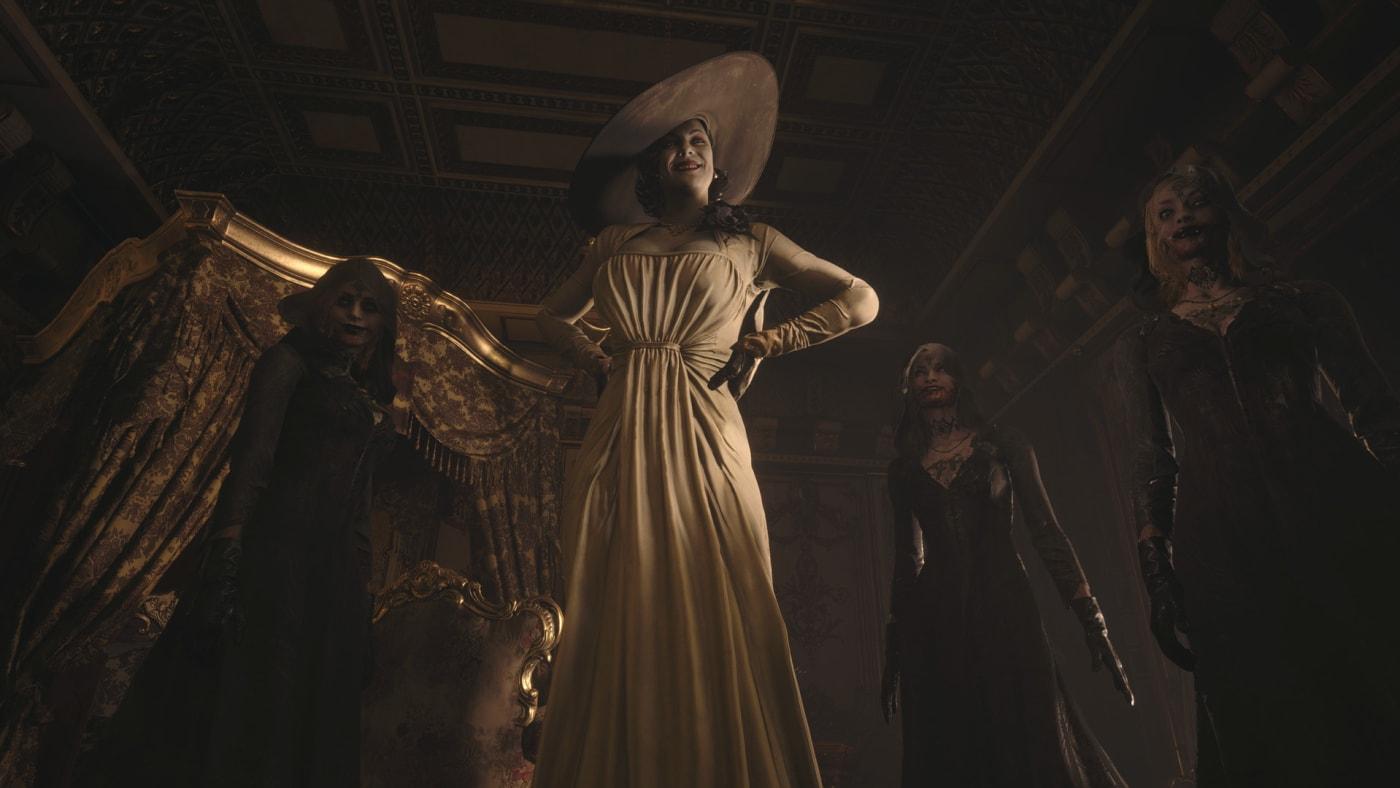 Resident Evil Village Vampire Lady Lady Dimitrescu
